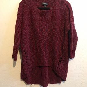 Maroon Sweater from Express